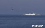 Máy bay Trung Quốc lượn nhiều vòng trên khu vực tàu Việt Nam hoạt động