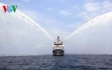 Bàn giao tàu Kiểm ngư hiện đại nhất Việt Nam