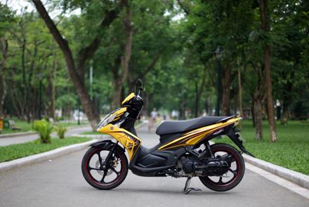 Yamaha Nouvo SX - Thay đổi để tồn tại