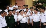 Chủ tịch nước Trương Tấn Sang:  Phải bảo vệ chủ quyền  trong bất cứ hoàn cảnh nào