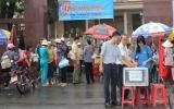 """Phường Phú Cường, TP.TDM: Gây quỹ ủng hộ chương trình """"Nghĩa tình Hoàng Sa -Trường Sa"""""""