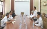 Đoàn đại biểu HĐND thăm điểm thi Trường Đại học Thủ Dầu Một