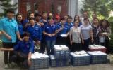 Đoàn thanh niên, Hội LHTN  phường An Bình, TX.Dĩ An tiếp sức cùng sĩ tử