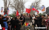 Khánh thành tượng đài Chủ tịch Hồ Chí Minh ở Santiago
