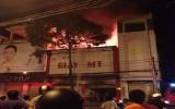 Tiệm giày cháy lớn, vợ chồng đại tá và con gái thiệt mạng