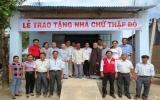 Tặng 2 căn nhà Chữ thập đỏ cho 2 hộ nghèo ở tỉnh Tây Ninh