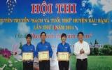 Huyện Bàu Bàng tổ chức hội thi tuyên truyền sách và tuổi thơ lần I-2014