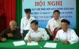 Ủy ban MTTQVN huyện Phú Giáo:  Ký kết quy chế phối hợp hoạt động với các tổ chức tôn giáo