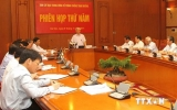 Phiên họp thứ 5 Ban Chỉ đạo Trung ương về phòng, chống tham nhũng