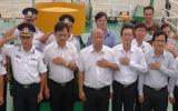 Bình Dương: Trao 3,9 tỷ đồng hỗ trợ lực lượng Cảnh sát biển