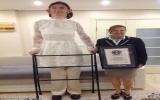 Thiếu nữ cao nhất thế giới