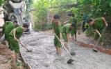 Đoàn Thanh niên Sở Cảnh sát PCCC: Chung tay xây dựng nông thôn mới