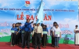 Bàu Bàng: Ra quân chiến dịch thanh niên tình nguyện hè năm 2014