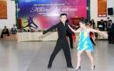 Hơn 100 VĐV tranh tài giải vô địch Cúp các câu lạc bộ Khiêu vũ thể thao tỉnh Bình Dương
