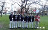 Gương mặt các học sinh đoạt huy chương Olympic quốc tế