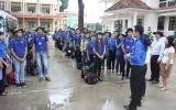 Đoàn Trường Đại học Thủ Dầu Một ra quân chiến dịch Thanh niên tình nguyện hè năm 2014