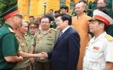Chủ tịch nước tiếp các cựu chiến binh bảo vệ biên giới phía Bắc