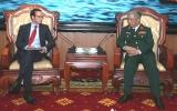 Hai nước Việt Nam-Hoa Kỳ đẩy mạnh hợp tác về quốc phòng