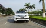 10 ô tô bán chạy nhất Việt Nam nửa đầu 2014