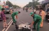 Đội An toàn giao thông và Dịch vụ công ích:  Xung kích bảo vệ an toàn giao thông