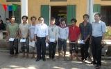 13 ngư dân bị Trung Quốc bắt giữ đã về đến Quảng Bình