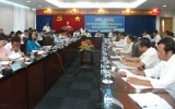 Hội nghị sơ kết tình hình thực hiện giao ước thi đua các tỉnh miền Đông Nam Bộ