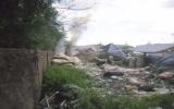 """Khu phố Chiêu Liêu, P.Tân Đông Hiệp  , TX.Dĩ An: """"Ngộp"""" vì đốt rác!"""