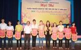 Hội thi tuyên truyền Sách và tuổi thơ tỉnh Bình Dương năm 2014