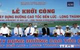 Thủ tướng phát lệnh khởi công đường cao tốc Bến Lức-Long Thành