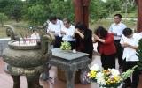 Đoàn công tác Quốc hội dâng hương tại Thành cổ Quảng Trị