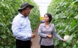 Phó Bí thư Tỉnh ủy Nguyễn Hữu Từ thăm và làm việc tại khu nông nghiệp ứng dụng công nghệ cao An Thái