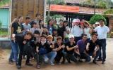 Nấu ăn từ thiện và cắt tóc miễn phí tại Trung tâm BTXH Chánh Phú Hòa