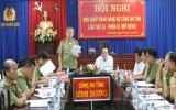 Đảng bộ Công an tỉnh : Tổ chức hội nghị Ban Chấp hành mở rộng