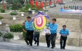 Hơn 100 thanh niên viếng Nghĩa trang liệt sỹ tỉnh