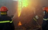 Cháy cơ sở mùn cưa