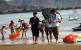 Tổ quốc bên bờ sóng : Cửa Lò biển sóng