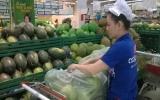 Bưởi Bạch Đằng vào siêu thị Coo.opMart
