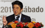 Đoàn xe của Thủ tướng Nhật Bản bị tai nạn tại Brazil
