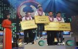 Nguyễn Trọng Nhân (Tiền Giang) vô địch Đường lên đỉnh Olympia 2014