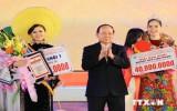 Liên hoan võ cổ truyền Việt Nam gây ấn tượng với bạn bè quốc tế