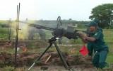 Bộ Chỉ huy quân sự tỉnh: Tổ chức hội thi bắn đạn thật súng máy phòng không năm 2014