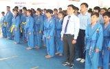 Thị xã Bến Cát: Khai mạc giải Vovinam - Karatedo - Taewondo mở rộng năm 2014