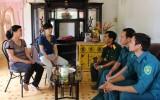 Huyện Bắc Tân Uyên:  Thanh niên hăng hái, chuẩn bị lên đường tòng quân