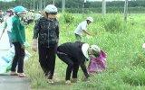 Bàu Bàng:  Ra quân chiến dịch nhà, vườn, đường phố sạch