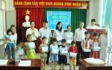 Hội Chữ thập đỏ TX.Dĩ An:  Trao tặng học bổng cho học sinh nghèo