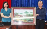 Phó chủ tịch thường trực UBND tỉnh Trần Văn Nam:  Ngành y tế Bình Dương và Vĩnh Phúc  cần học hỏi lẫn nhau để phát triển