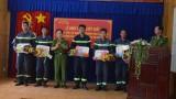 Cảnh sát PCCC Bình Dương: Khen thưởng đột xuất các tập thể, cá nhân trong cứu nạn cứu hộ