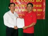 Ra mắt Chi bộ Công ty Bao bì MM.Vidon