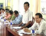 Bàu Bàng: Giám sát việc lãnh đạo, chỉ đạo và tổ chức thực hiện chương trình xây dựng nông thôn mới tại xã Trừ Văn Thố