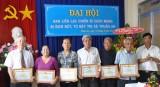 TX.Thuận An :  Đại hội Ban liên lạc chiến sĩ cách mạng bị địch bắt, tù đày nhiệm kỳ III (2014-2019)